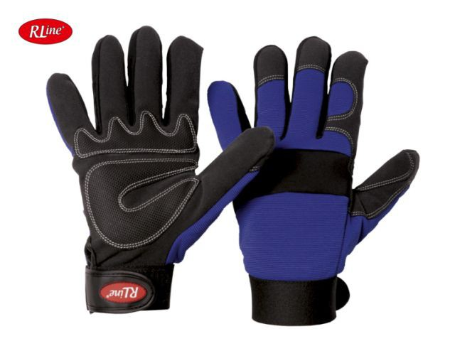 Mechaniker Handschuh RLine Mec Blue