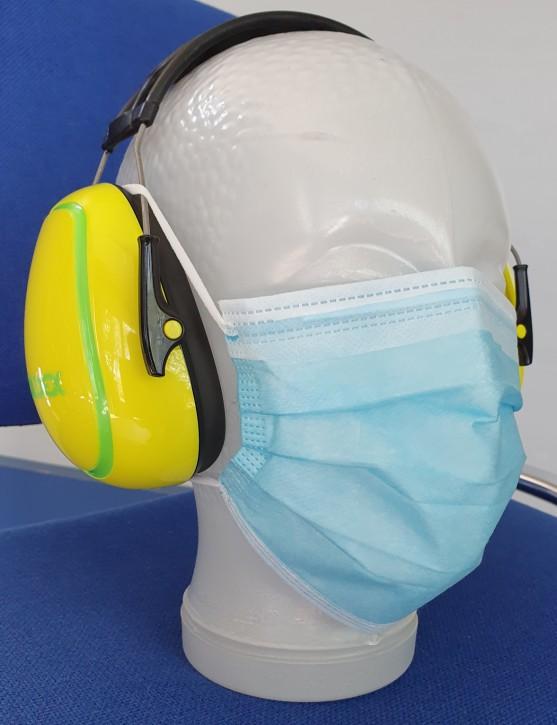 Mund-/Nasenschutz OP-Maske 3-lagig Box à 50 St.