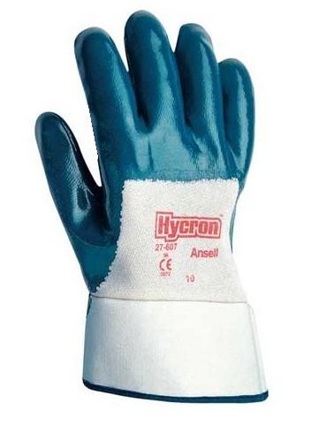 Ansell Hycron 27-607 Mehrzweck Handschuh mit Nitrilbeschichtung Größe 9