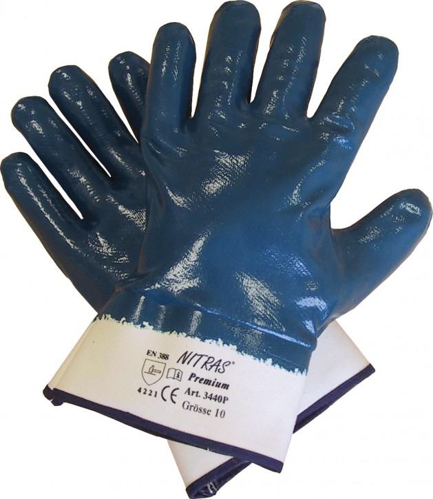Handschuh Nitril blauTop Qualität Größe 10