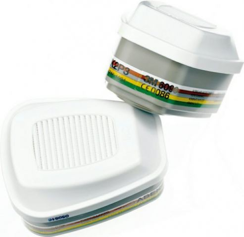 3M Gasfilter ABEK2 P3 6099 Bajonett Filter zur Serie 6000, 7000 und FF-400