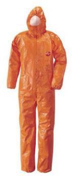 DuPont Tychem -F Chemieschutzoverall orange Größe M