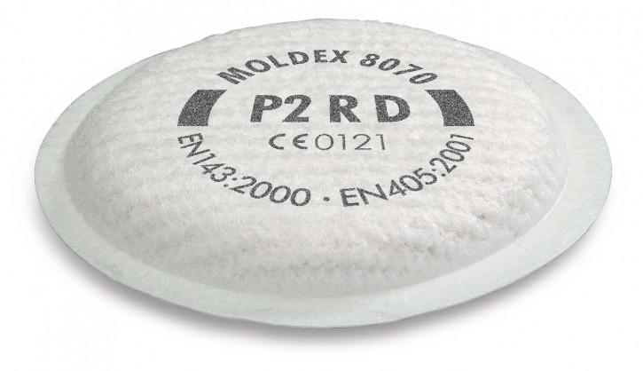 Moldex Partikelfilter P2 RD 8070 zur Serie 8000