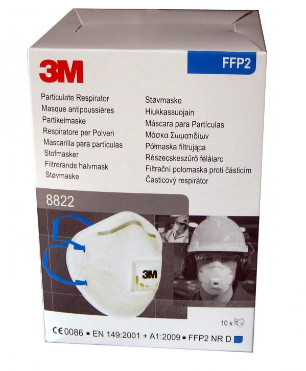 3M Atemschutzmaske 8822 FFP2