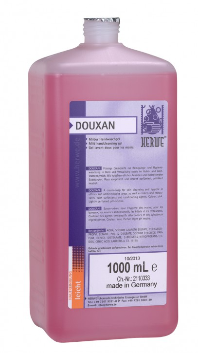 Herwe DOUXAN Handreinigungslotion 1000 ml Flasche