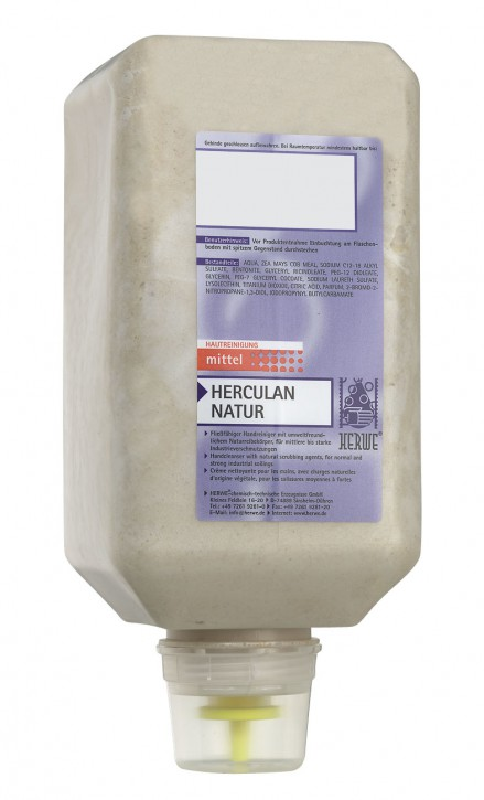 Herwe HERCULAN NATUR Hautreinigung 2000 ml Flasche