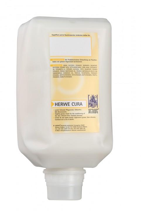 Herwe Cura Hautpflegecreme 1000 ml Beutel