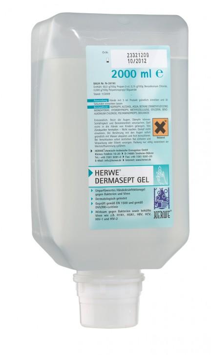 HERWE DERMASEPT GEL Beutel 2000 ml