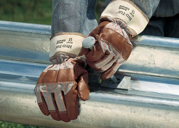 Ansell Hyd-Tuf 52-547 Mehrzweck Lederhandschuh Größeß 9