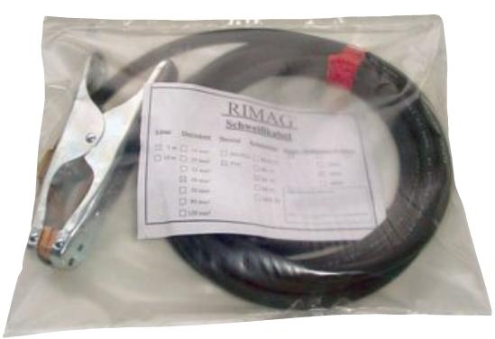 Masse- Schweißkabel PVC 5m mit Masseklemme