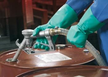 Ansell Sol-Vex 37-675 Chemikalienschutzhandschuh Größe 10