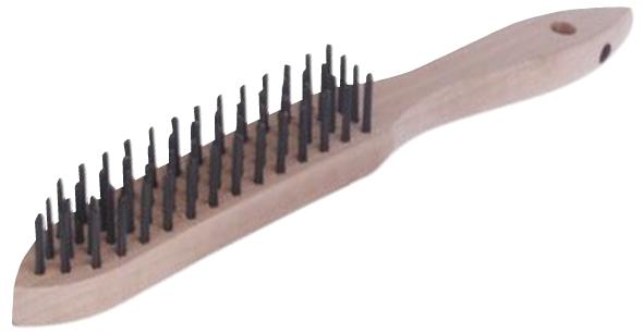 Handbürste mit Stahldraht Original Lessmann