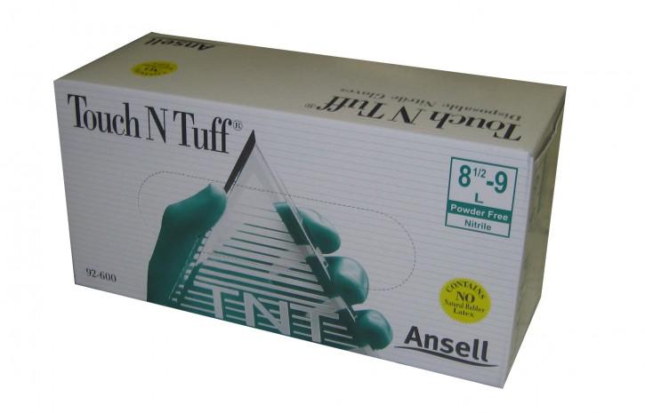Ansell 92-600 Touch N Tuff Nitril Einweghandschuhe Gr. S