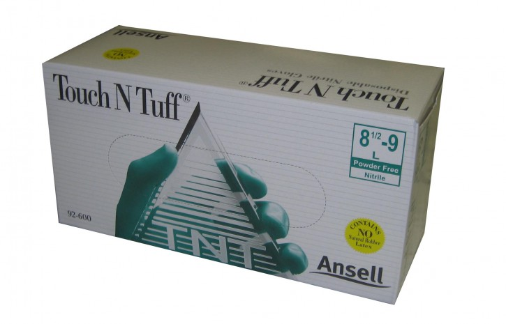 Ansell 92-600 Touch N Tuff Nitril Einweghandschuhe