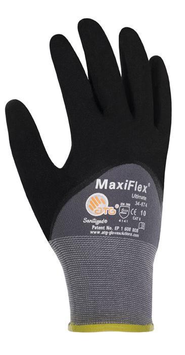 Montagehandschuh Maxiflex ULTIMATE 2441 34-875 Größe 10