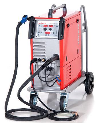 Jäckle ProPULS 300 C wassergekühlte Schweißanlage + TBI 260