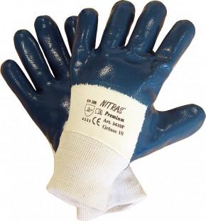 Handschuh Nitril blau Top Qualität Größe 10