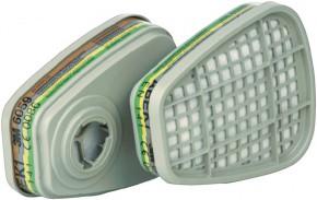 3M Gasfilter ABEK1 6059 Bajonett Filter zur Serie 6000, 7000 und FF-400