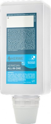 Herwe all in one Hautschutz 1000 ml Beutel