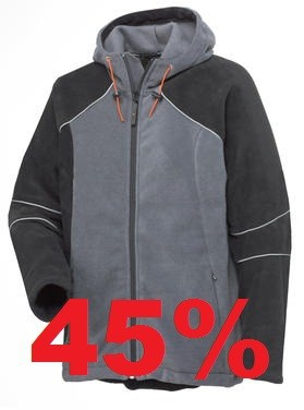 Helly Hansen Middleton Crafter Fleece Jacke Schwarz/ Grau