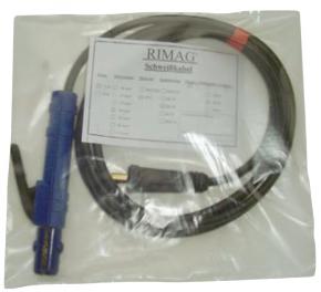 Elektrodenhalter- Schweißkabel PVC 5m